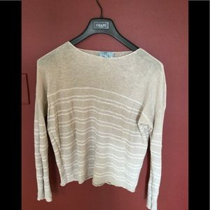 Joan Vass New York size XL woman's light sweater